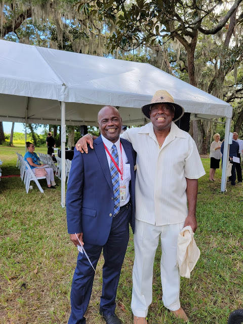 St. Johns County School Board Anthony Coleman, Sr. with Greg White