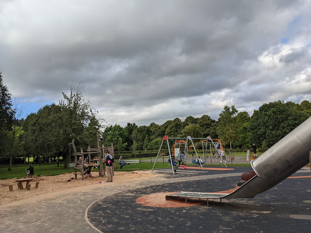 An Alternative Day Out in Cumbria | Ideas for Places to Visit - Bitts Park Playground and Sandpit