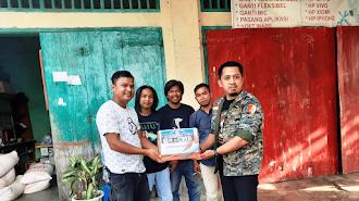 GP Ansor Luwu Timur Terima Open Donasi Amal Luwu Utara Untuk Sulawesi Barat