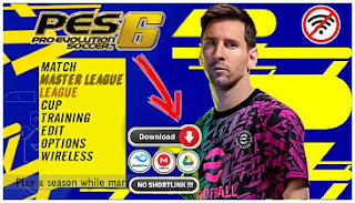 Download PES 6 MOD eFootball PES 2022 PPSSPP Textures Grass Graphics HD & New Menu Faces Kits And Latest Transfer