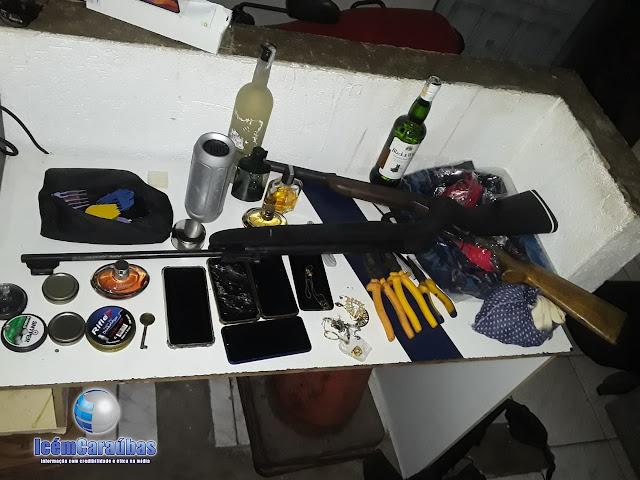 Polícia Militar age rápido e recupera objetos após roubos a residências em Campo Grande