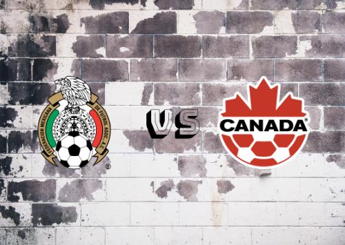 México vs Canadá  Resumen