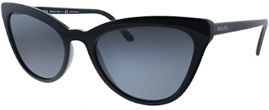 Fashionable Authentic Prada Cat Eye Sunglasses