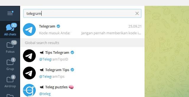 3 Cara Mencari Akun Seseorang di Telegram