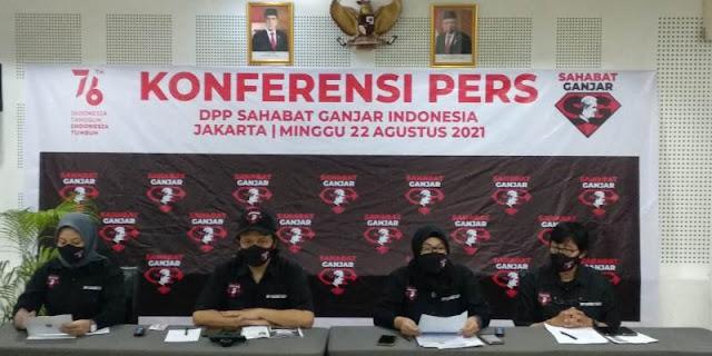 Bidik Capres, Sahabat Ganjar di 51 Kota Deklarasi Usung Ganjar Pranowo Maju Pilpres 2024