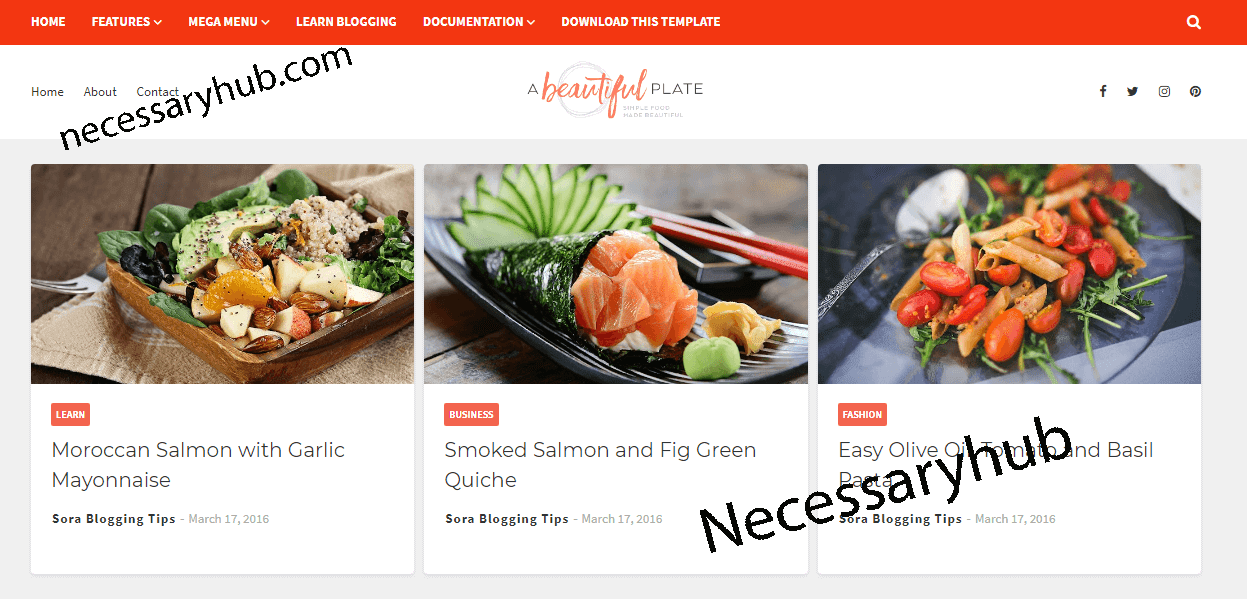 Free Blogger Themes Download