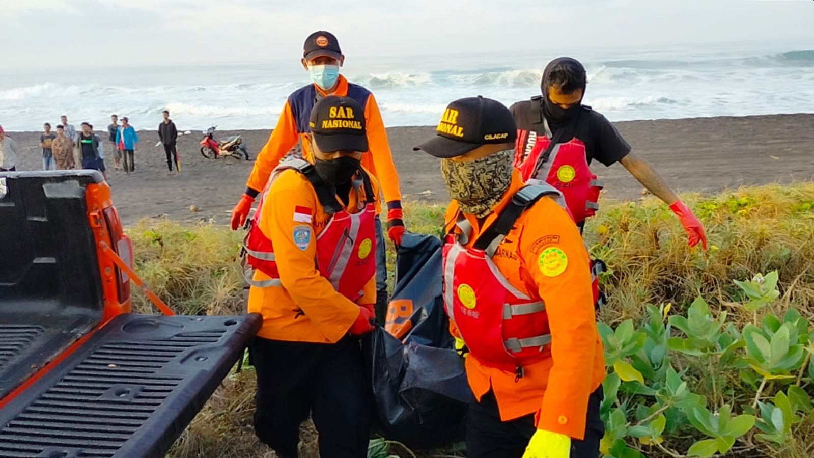 Satu Korban Nleyan Hilang Ditemukan Meninggal di Pantai Mirit