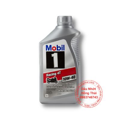 Nhớt Mobil 1 Racing 4T 10W40