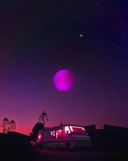 Purple Sky Aesthetic