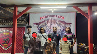 Tim Puma Polres Bima-Kota Ringkus Garong Laptop dan Penadah