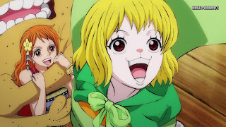 ワンピースアニメ ワノ国編 995話 | ONE PIECE ナミ キャロット