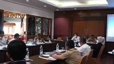 Bahas RKURPPAS TA 2022, Komisi I Soroti Perubahan Anggaran Dari Mitra Kerja