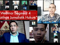 Media Ceo Group Menggelar Webinar Segment #NgomonginMedia dengan Tema : Pelatihan Jurnalist Hukum
