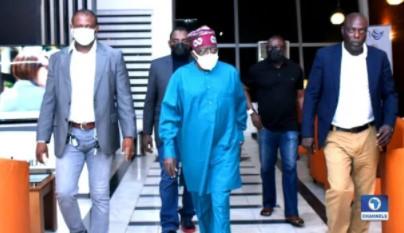 BREAKING: Tinubu Quietly Returns To Nigeria From UK