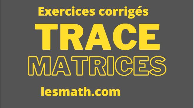 trace-de-matrices