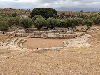 View of the Aptera theater.