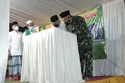 Danrem 051/Wkt Menghadiri Peringatan Maulid Nabi Muhammad SAW 1443.H/2021.M dan Peresmian Masjid Al-Hasan Khodijah Bekasi