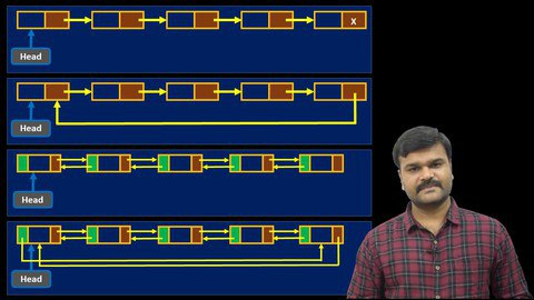 Masterclass : Linked Lists - Exclusive from Zero to Hero [Free Online Course] - TechCracked