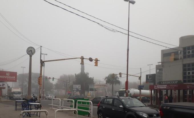 Alerta Amarilla: Vientos fuertes hasta la madrugada, mucha precaución