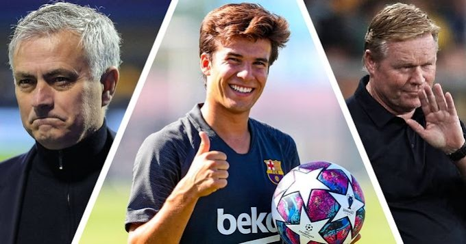 Jose Mourinho AS Roma interested in Riqui Puig want him in January