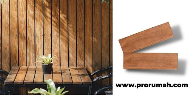 3 Jenis Panel Dinding Kayu Terbaik - dinding kayu solid