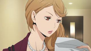 ハイキュー!! アニメ 2期3話   谷地仁花 お母さん 谷地円   HAIKYU!! Season2 Karasuno