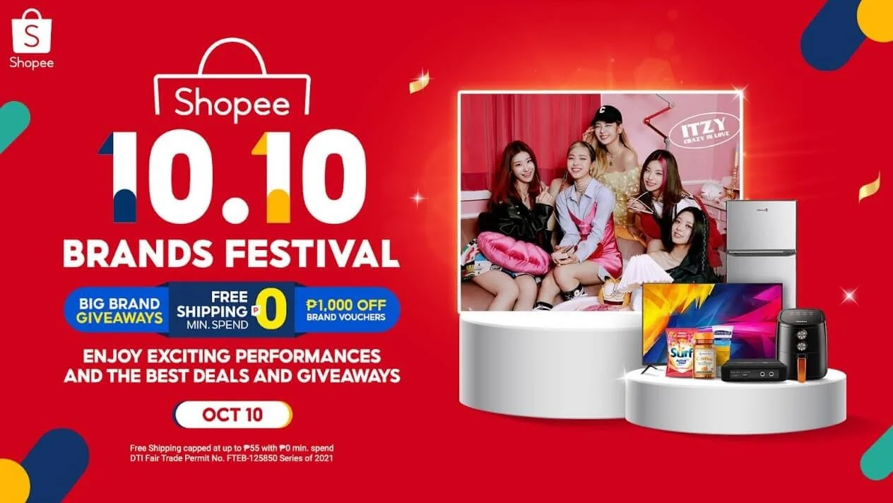 10 Exciting Things to Look Forward to at Shopee 10.10 Brands Festival