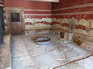 Palace of Knossos - throne room.
