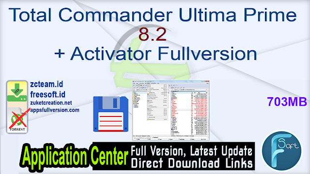 Total Commander Ultima Prime 8.2 + Activator Fullversion