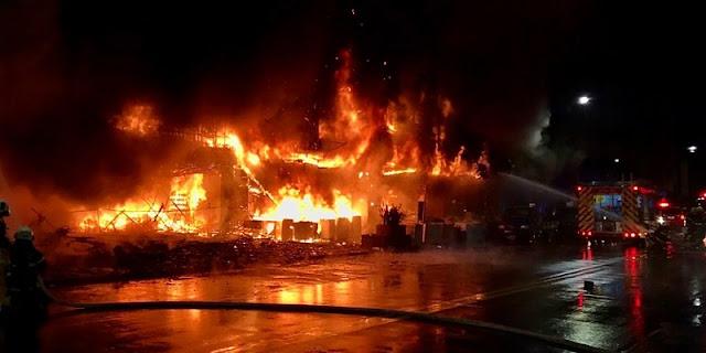 Kebakaran Dahsyat Api Lalap Gedung 13 Lantai, Korban Jiwa Capai 46 Orang