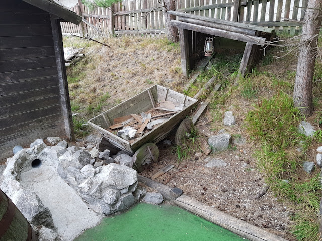 Alpine Adventure Golf course on the Great Orme in Llandudno