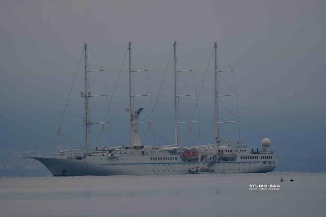 Δυο κρουαζιερόπλοια στο Φθινοπωρινό Ναύπλιο