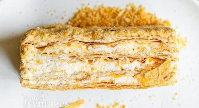 Μιλφέιγ με κρέμα πατισερί, ανεπανάληπτη γεύση