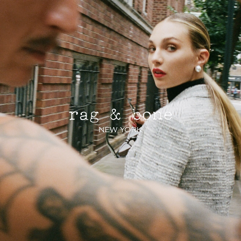Maddie Ziegler stars in rag & bone fall 2021 campaign.
