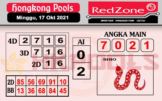 Redzone HK Minggu 17 Oktober 2021