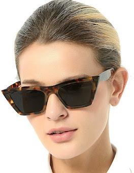 Cheap Oversized Cat Eye Sunglasses For Women