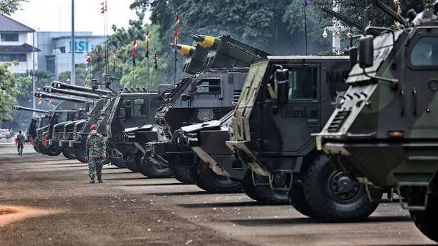 Bravo TNI! Militer RI Terkuat di Asia Tenggara Meski Anggarannya Kalah dari Singapura