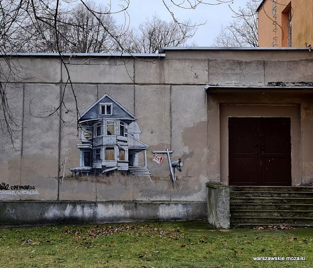 Warszawa Warsaw Ochota streetart art murale mural muralart ochockie murale wen2