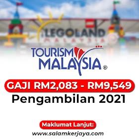Tourism Malaysia Buka Pengambilan Kekosongan Jawatan Terkini Seluruh Malaysia ~ GAJI RM2,083 - RM9,549 / Mohon Sekarang!