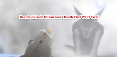 Boruto Episode Of Kurama's Death That Went Viral