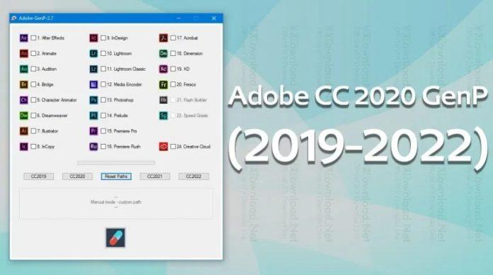Download Adobe CC GenP - Universal Patch cho Adobe 2019 - 2022