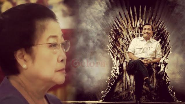 Pengaruh Megawati dan Luhut Jadi Penghambat Jokowi Tunjuk Menteri dari Kalangan Profesional