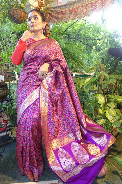 Banarasi Kani saree