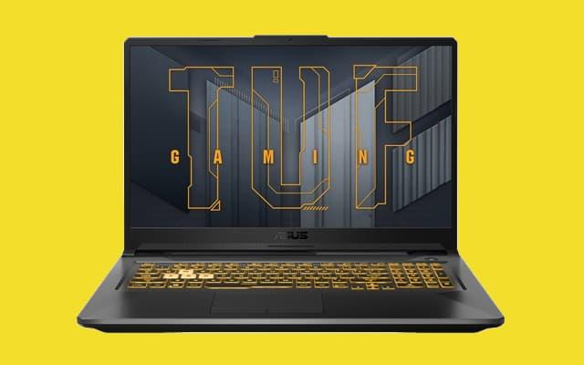 ASUS TUF A17 FA706QM-HX001: portátil gaming con procesador AMD Ryzen 7, gráfica GeForce RTX 3060 y pantalla FHD de 144 Hz