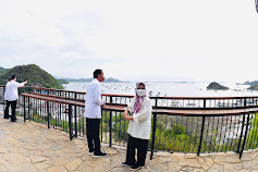 Saat Presiden Jokowi Kunjungi Tempat Terbaik Menikmati Senja di Labuan Bajo