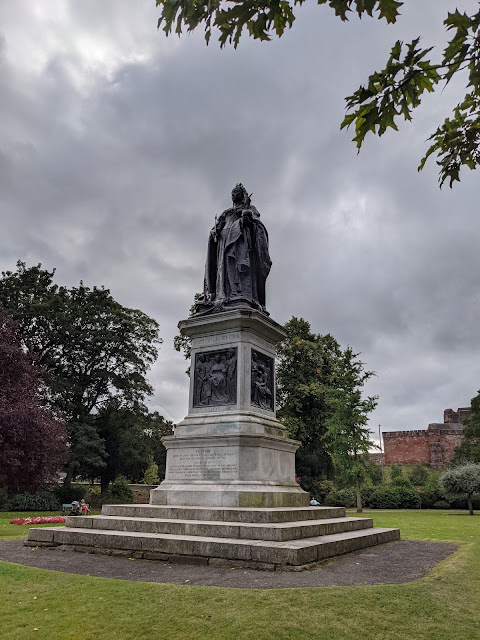 An Alternative Day Out in Cumbria | Ideas for Places to Visit - Queen Victoria Statue Bitts Park