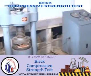 Brick Compressive Strength Test   Brick Test