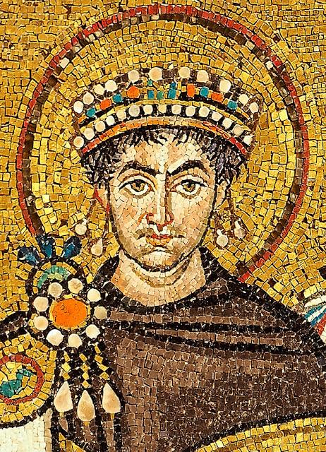 Emperor Justinian byzantium.filminspector.com