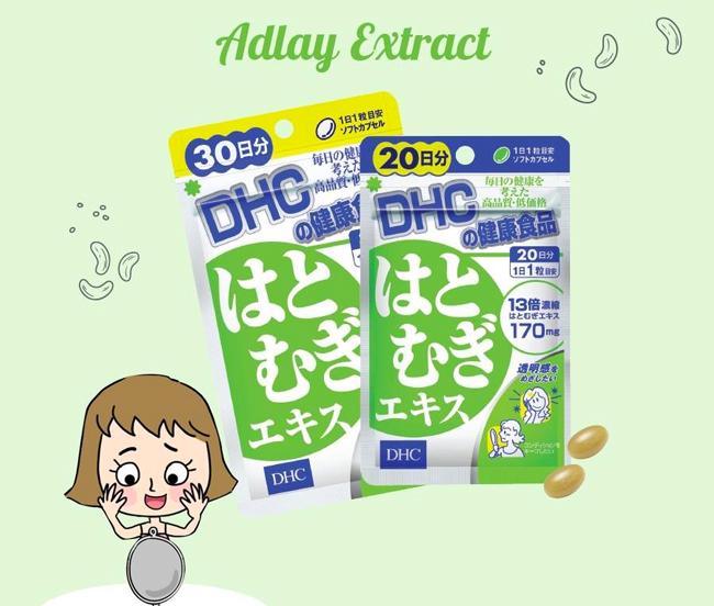 DHC Nhật Bản Adlay Extract