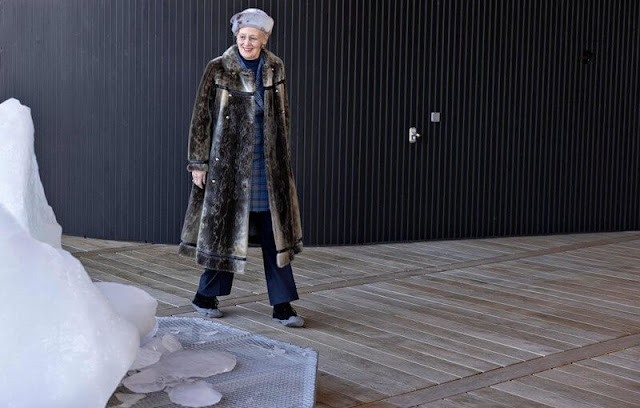 Queen Margrethe visit the capital Nuuk, Ilulissat, Pituffik and Station Nord